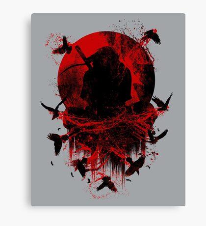 Ninja Clash Canvas Print