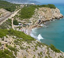 Sitges Clifftop Walk by jonvin