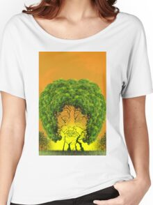 Afro Women's Relaxed Fit T-Shirt