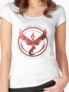 Pokemon Go: valor   Women's Fitted Scoop T-Shirt