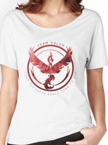 Pokemon Go: valor   Women's Relaxed Fit T-Shirt