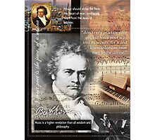 mozart beetoven Photographic Print