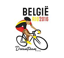 Olympics Belgium Cycling Photographic Print