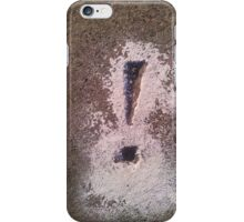Concrete Koan iPhone Case/Skin