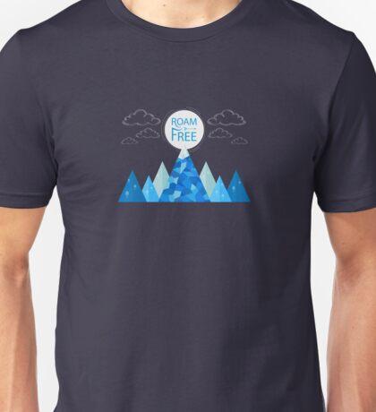 Roam Free Unisex T-Shirt