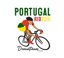 Olympics Portugal Cycling Photographic Print