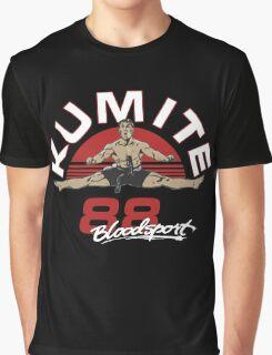 VAN DAMME - BLOODSPORT MOVIE Graphic T-Shirt