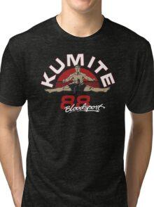 VAN DAMME - BLOODSPORT MOVIE Tri-blend T-Shirt