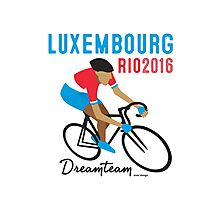 Olympics Luxembourg Cycling Photographic Print