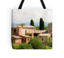 farmhouse in Tuscany, Italy Tote Bag
