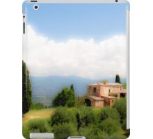 farmhouse in Tuscany, Italy iPad Case/Skin