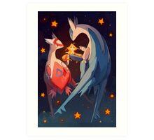 Eon duo & Wish Maker Art Print