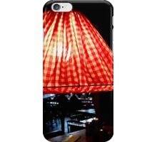 Red Check Light in the Dark iPhone Case/Skin