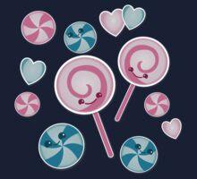 lollipop pattern sweetness Baby Tee