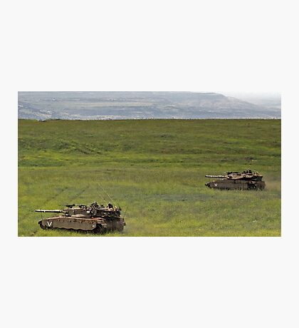 military exercise in Northern Israel   Photographic Print