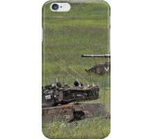 military exercise in Northern Israel   iPhone Case/Skin