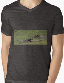 military exercise in Northern Israel   Mens V-Neck T-Shirt