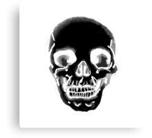 Totenkopf schwarz Canvas Print