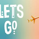 Let's Go (Airplane) by ALICIABOCK