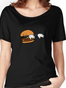 DAB Burger Women's Relaxed Fit T-Shirt