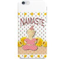 Namaste little girl iPhone Case/Skin