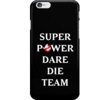 Super Power Dare Die Team! (GBusters China Title) iPhone Case/Skin