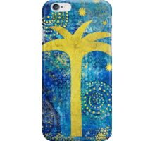 Blue Tropical night iPhone Case/Skin