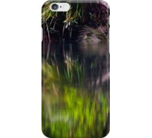 Blue Pool Reflections I iPhone Case/Skin