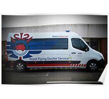 Royal Flying Doctor Ambulance Poster