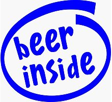 Beer inside Photographic Print