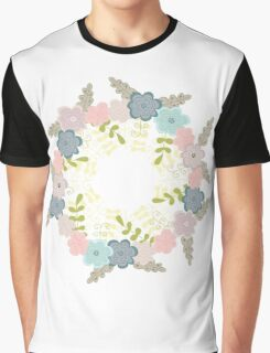 Floral frame 1 Graphic T-Shirt
