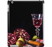 ~ still life with pomegranate ~ iPad Case/Skin