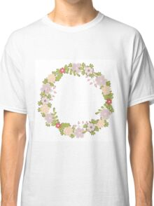 Floral frame 2 Classic T-Shirt