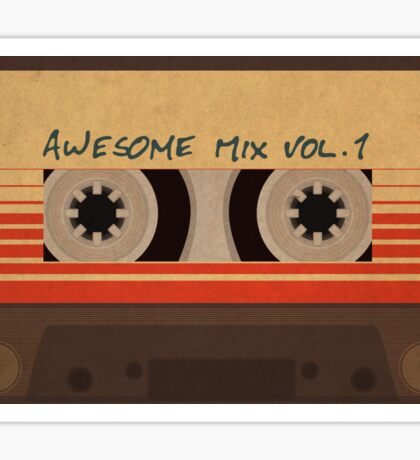 Awesome Mix Vol 1 Sticker