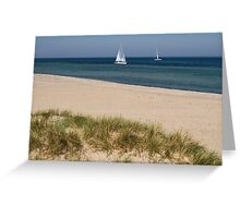 Calm Baltic Sea Greeting Card