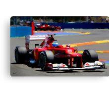 F1 Fernando Canvas Print