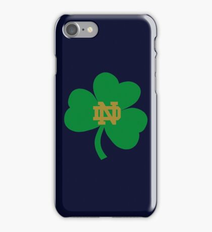 NOTRE DAME FIGHTING IRISH UNIVERSITY iPhone Case/Skin