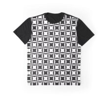 Op art geometric pattern in black and white Graphic T-Shirt
