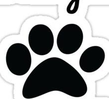 God so loved the world he gave us Beagles. Sticker