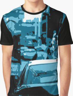 Busy Street Scene Graphic T-Shirt