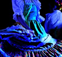Beautiful Andalucian Dancer II Sticker