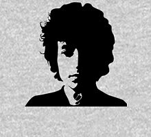 bob dylan decal black and white simple silhouette Unisex T-Shirt