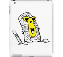 Monkey in love iPad Case/Skin