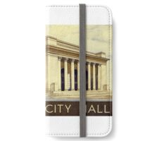 Sheffield City Hall, 1932 iPhone Wallet/Case/Skin