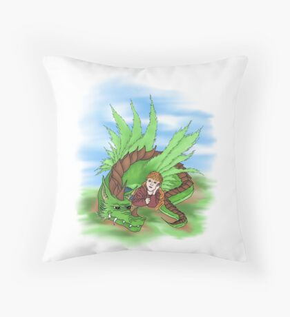 Snort and Wobbles Extra Throw Pillow