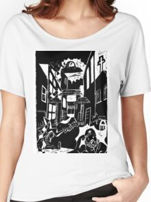 Historicity - Cyclone in Chinatown Women's Relaxed Fit T-Shirt