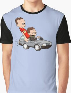 Leonard and Sheldon Graphic T-Shirt