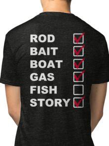 The Fishing List Tri-blend T-Shirt