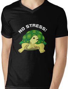 No Stress Mens V-Neck T-Shirt