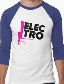 Electro Music Quote Men's Baseball ¾ T-Shirt